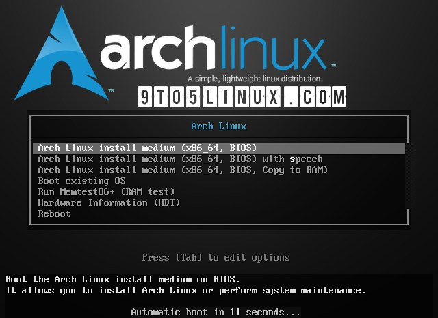 Arch Linux's First ISO Release Powered by Linux Kernel 5.12 Is Out Now
