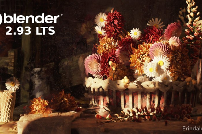 Blender 2.93 Is Here as a Long-Term Supported Release, This Is What's New