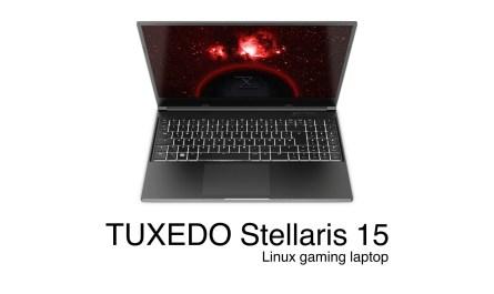 TUXEDO Stellaris 15