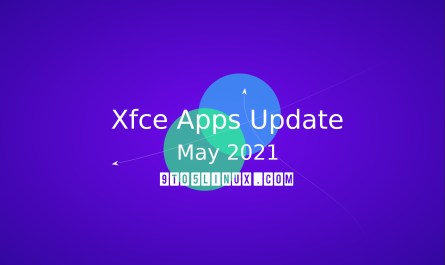 Xfce's apps May 2021