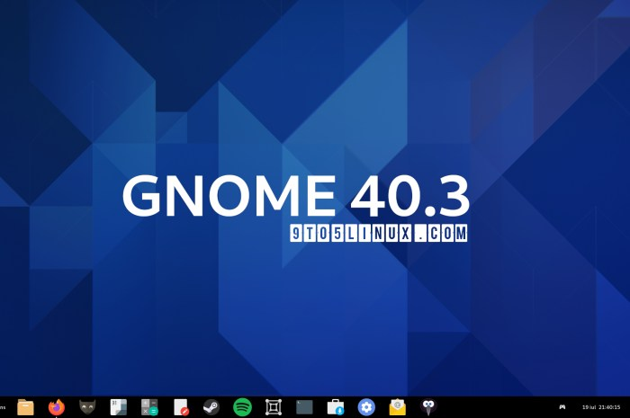 GNOME 40.3 Released with Improvements to GNOME Software, Many Bug Fixes