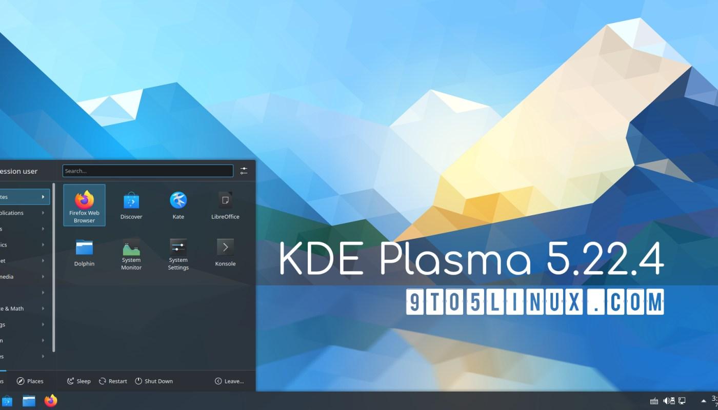 KDE Plasma 5.22.4