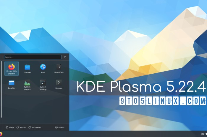 KDE Plasma 5.22.4 Further Improves Plasma Wayland, Makes System Monitor Faster to Launch