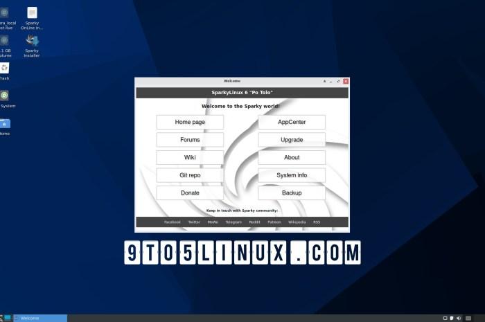 "SparkyLinux 6.0 ""Po Tolo"" Released Based on Debian GNU/Linux 11 ""Bullseye"""