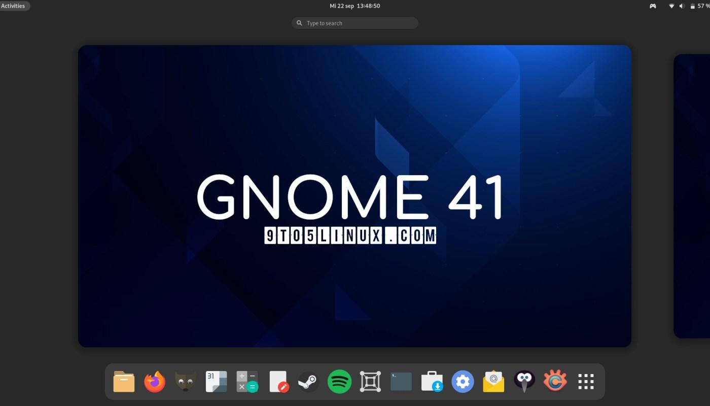 GNOME 41