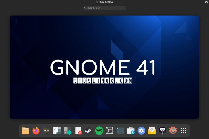 GNOME 41 Desktop Environment Officially Released, This Is What's New