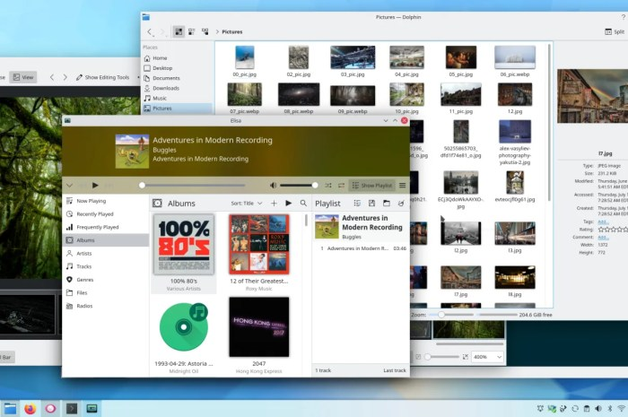 KDE Gear 21.08 Gets First Point Release with Bug Fixes for Dolphin, Elisa, and Spectacle
