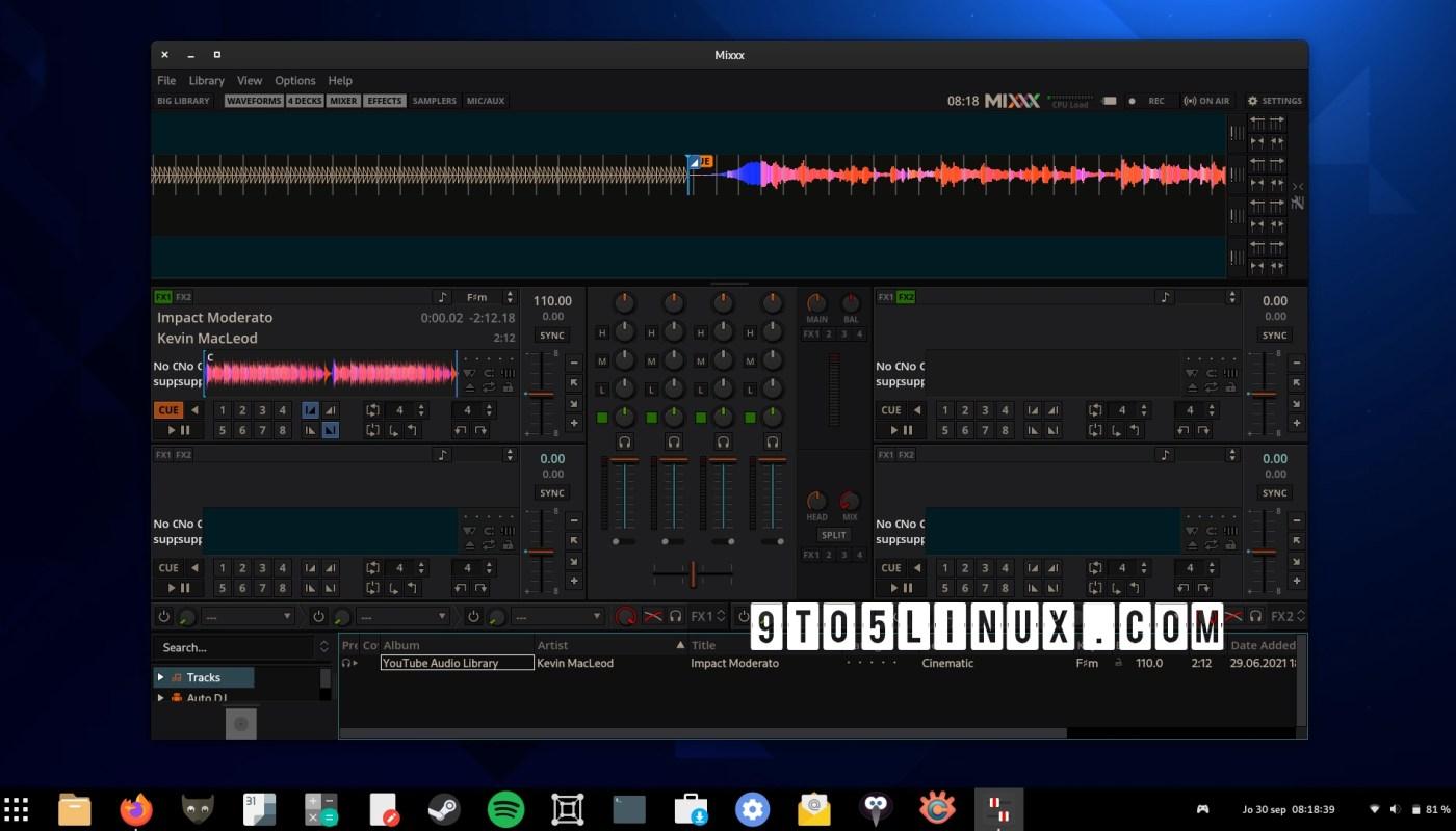 Mixxx 2.3.1