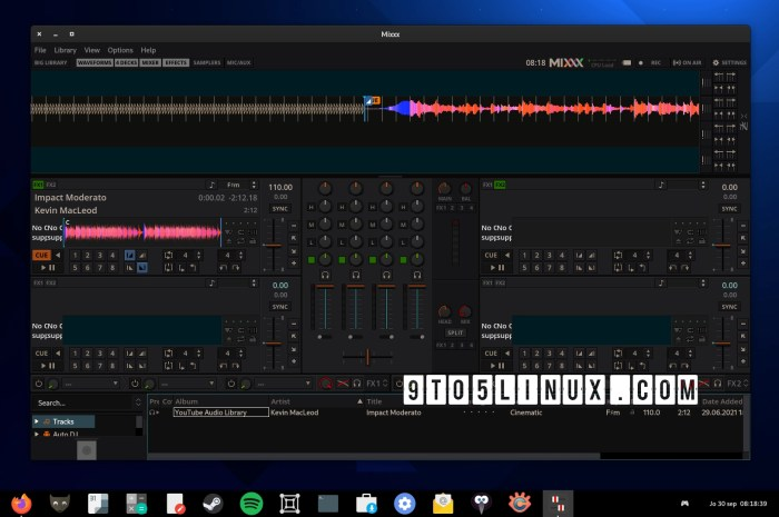 Mixxx 2.3.1 Free DJ Software Adds Support for New Controllers, Improves HiDPI Support