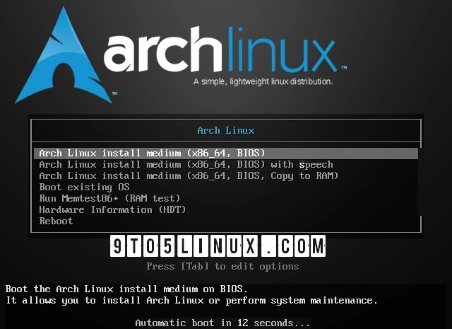 First Arch Linux ISO Powered by Linux Kernel 5.14 Is Now Available for Download