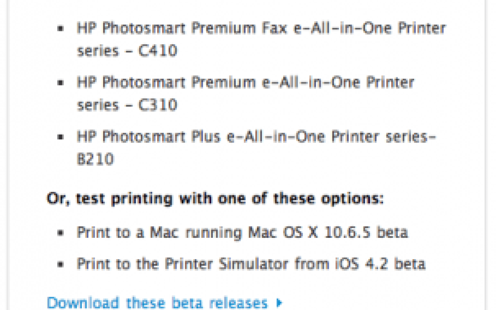 drivers hp photosmart premium c410 series