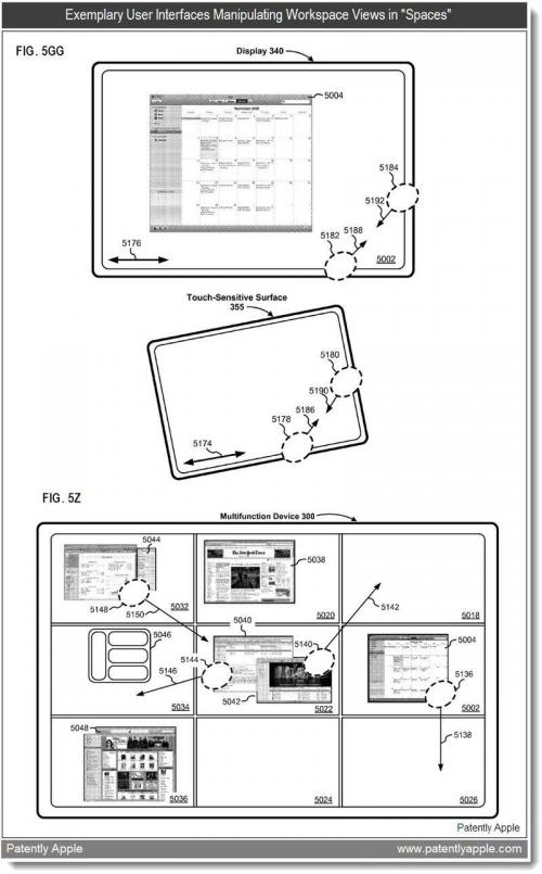 Patent reveals remarkable Spaces-like application switcher