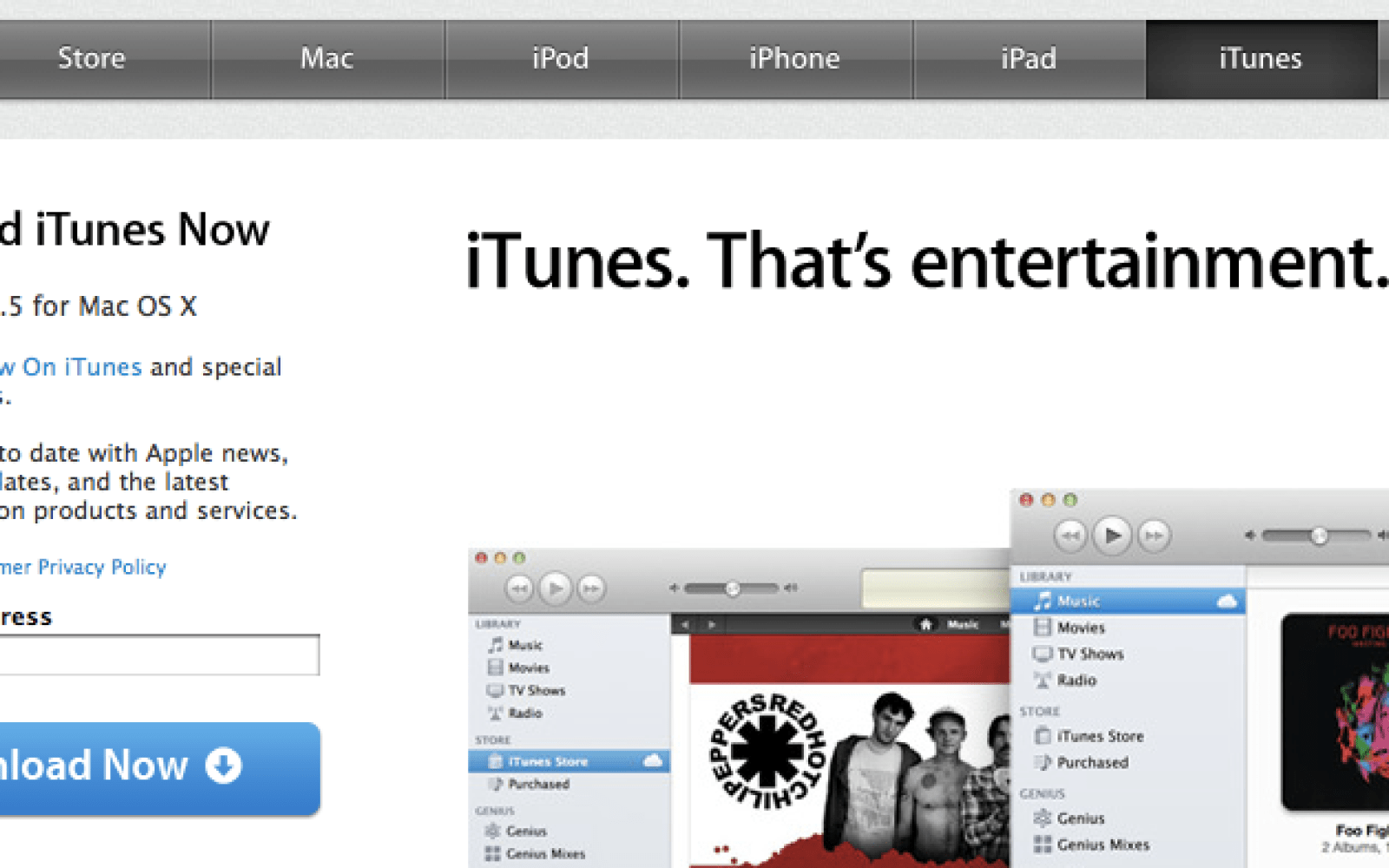 Itunes 10. 5 is out, get downloading 9to5mac.