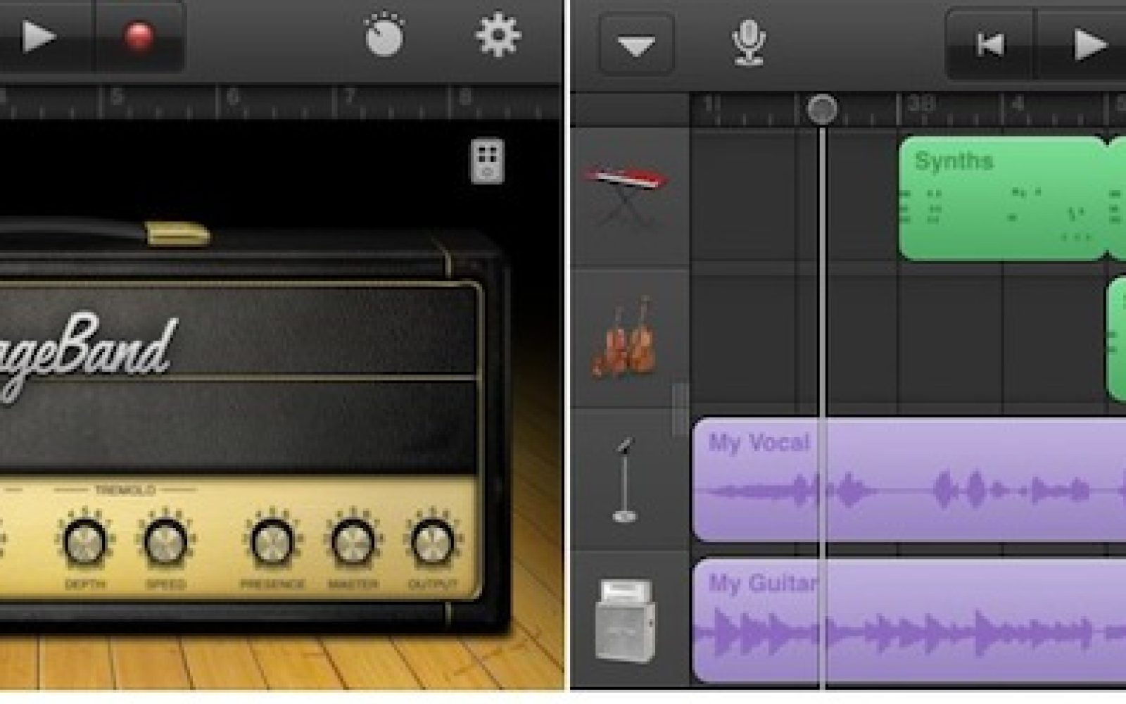 Apple Launches Garageband Universal Ios App With Iphone And Ipod