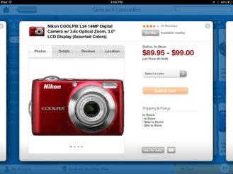 Walmart for iPad (screenshot 003)