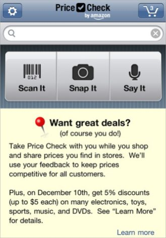 Price Check for iOS (iPhone screenshot 001)