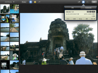 iPhoto for iPad 3