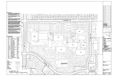 1 Site Plan & Landscape