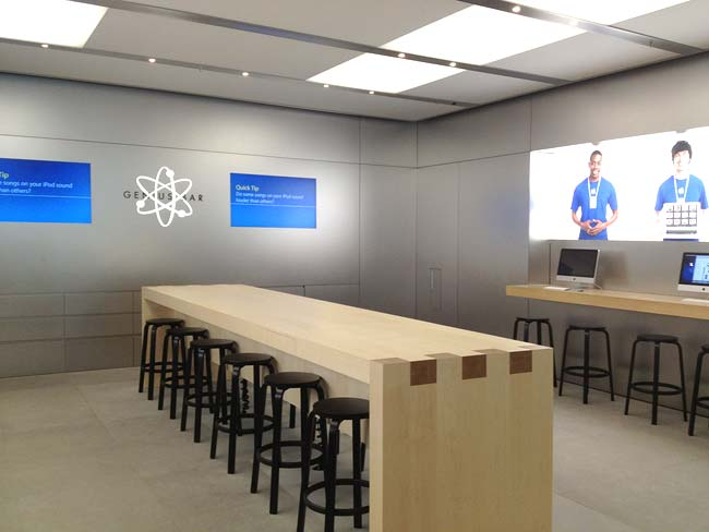 Good Apple Testing Increased Genius Bar Table Size For Some Stores, Ridding Of  Desk In The Back Ideas