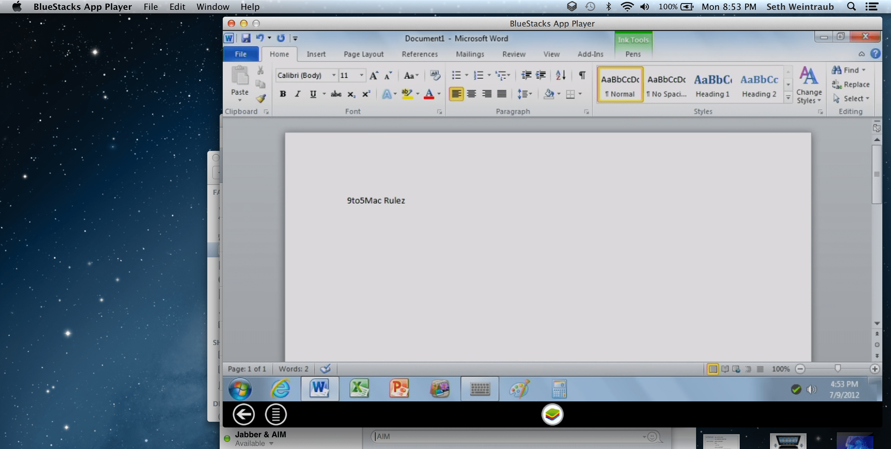 ms office mac 2012 review