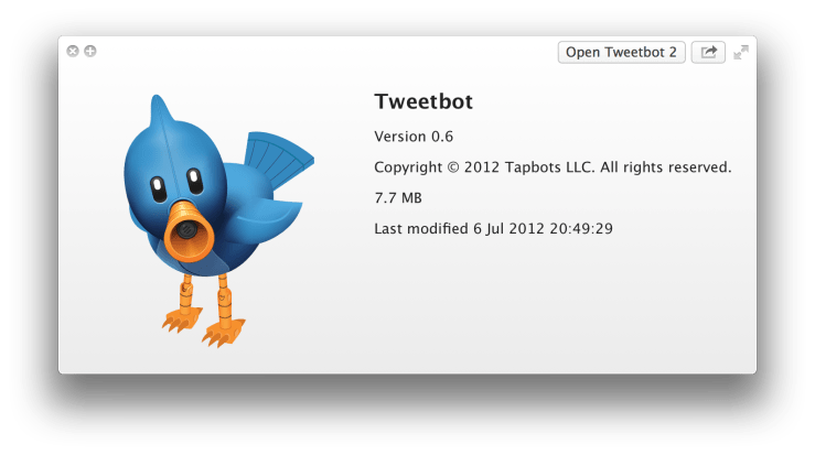 Tweetbot for Mac icon