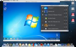 Parallels Desktop 8 for Mac_Win 7 & VM List