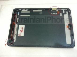 iPad Mini housing inner