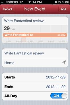 Fantastical 3