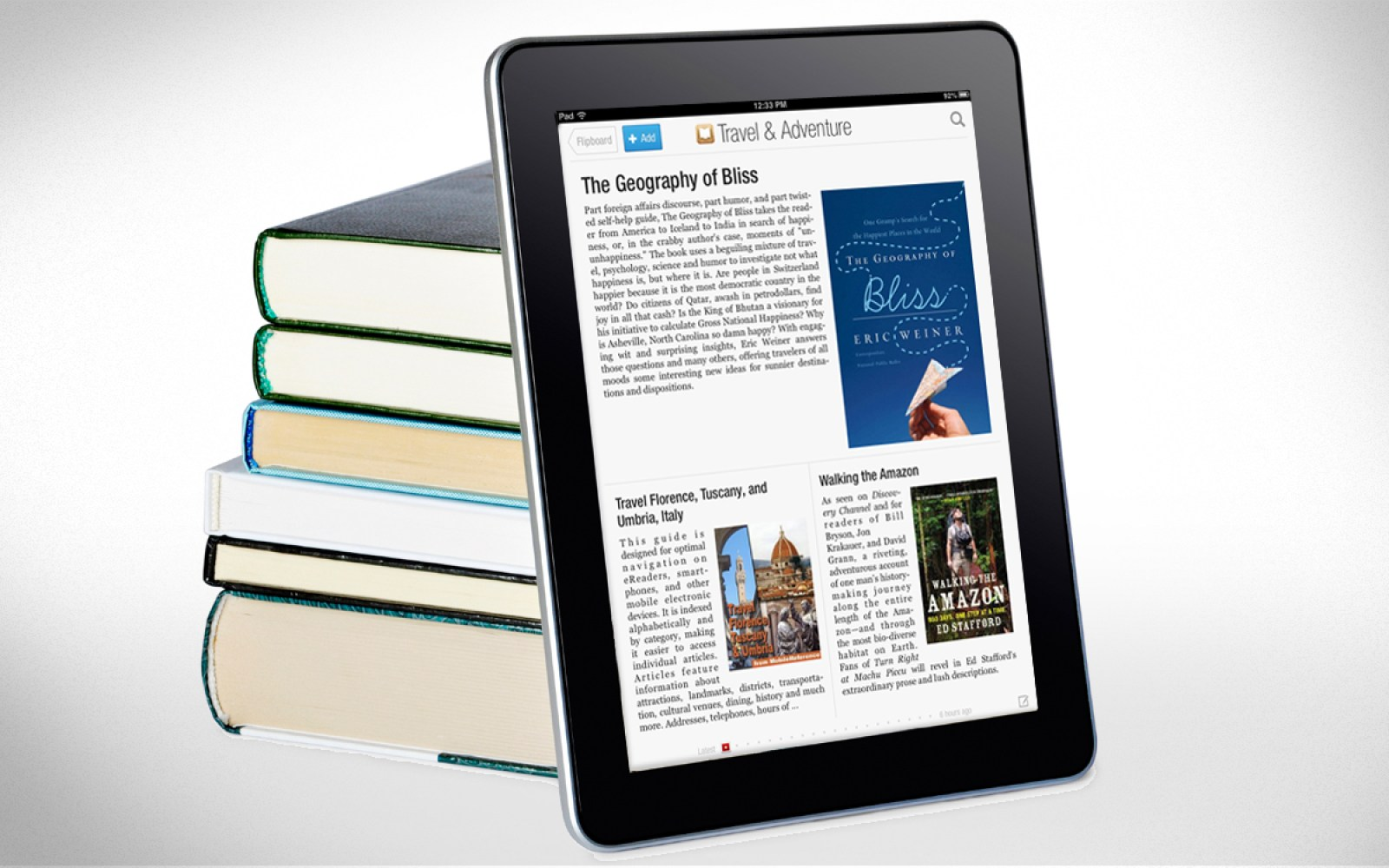 Flipboard Opens New Books Category Showcasing Most Popular Books