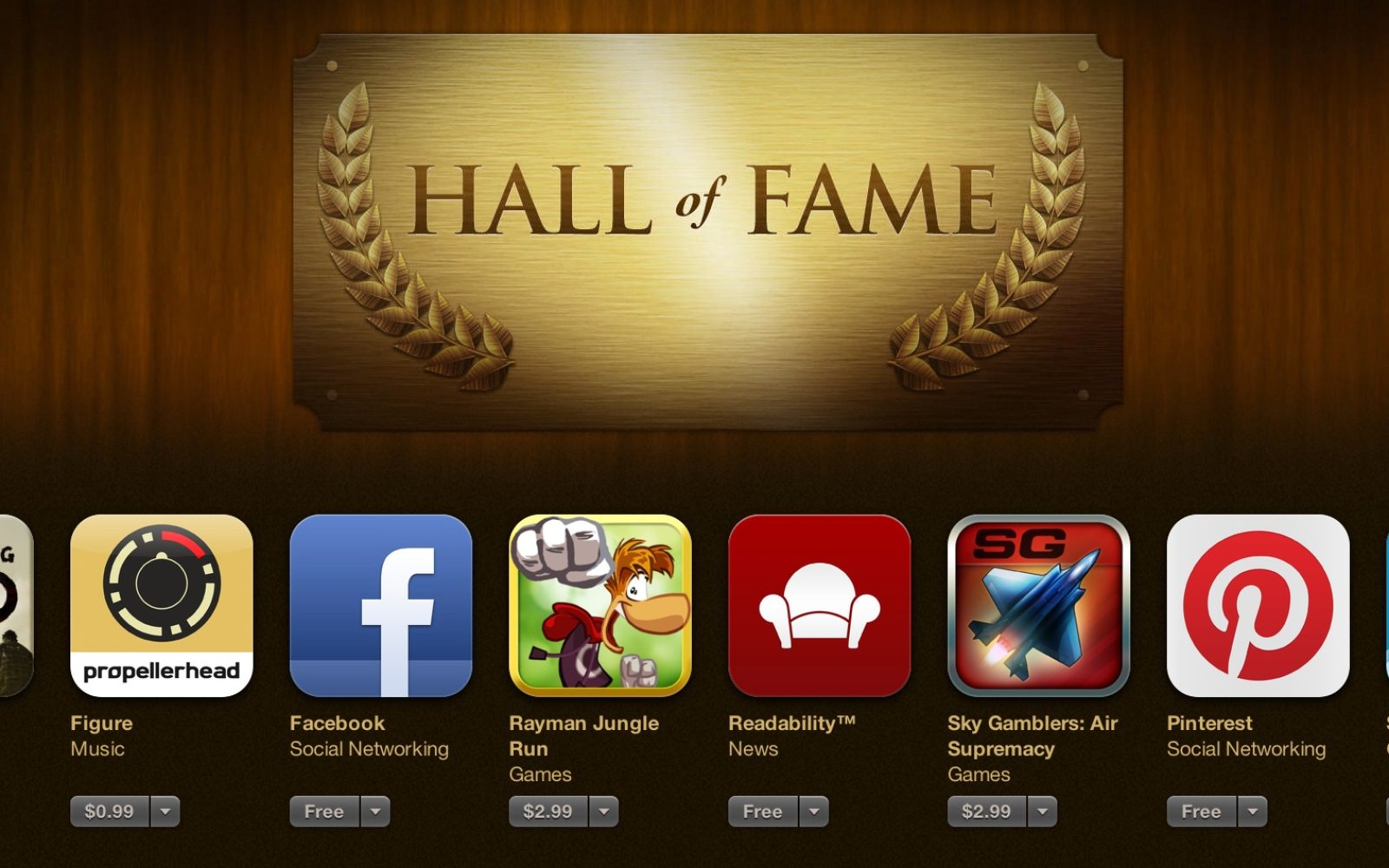 Orbitz, Pinterest, Sky Gamblers, Foursquare and others added