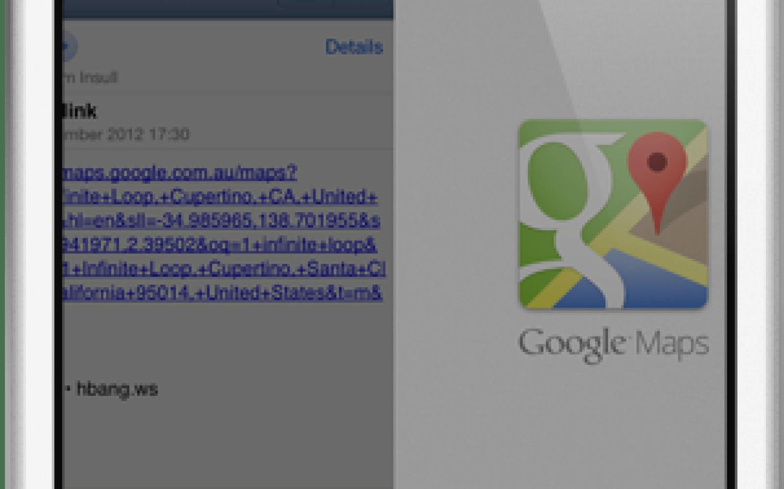 MapsOpener jailbreak tweak sets Google Maps as default maps