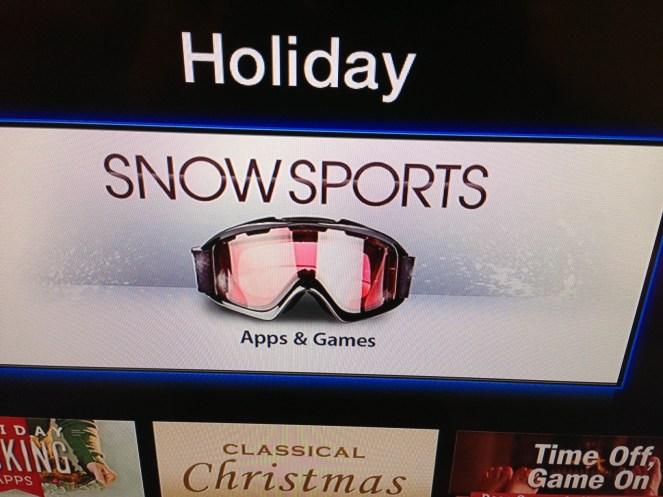Snow sports Apple TV