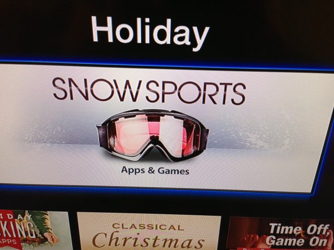 Snow sports Apple TV