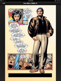 Iron Man on iPad 2