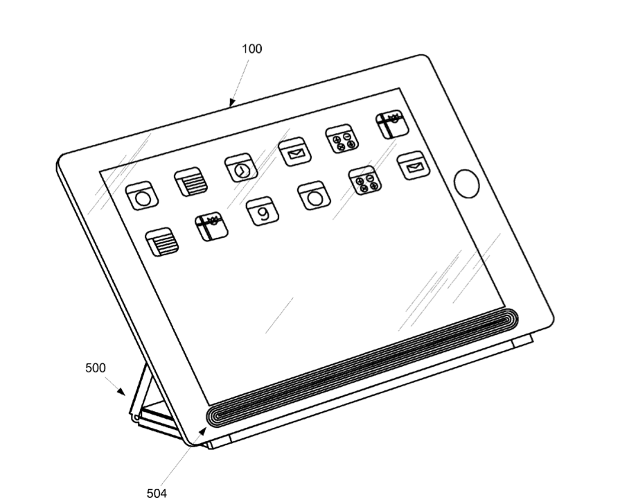 Apple patents unlikely SmartCover wireless charging system