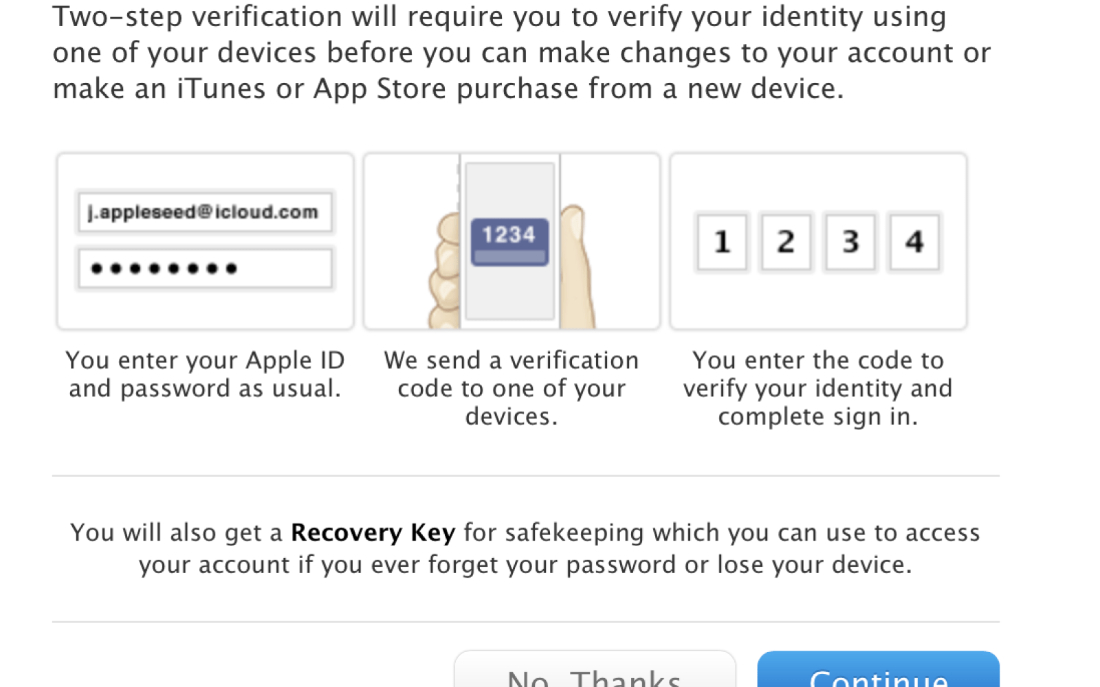 Apple beefs up iCloud, Apple ID security with two-step verification