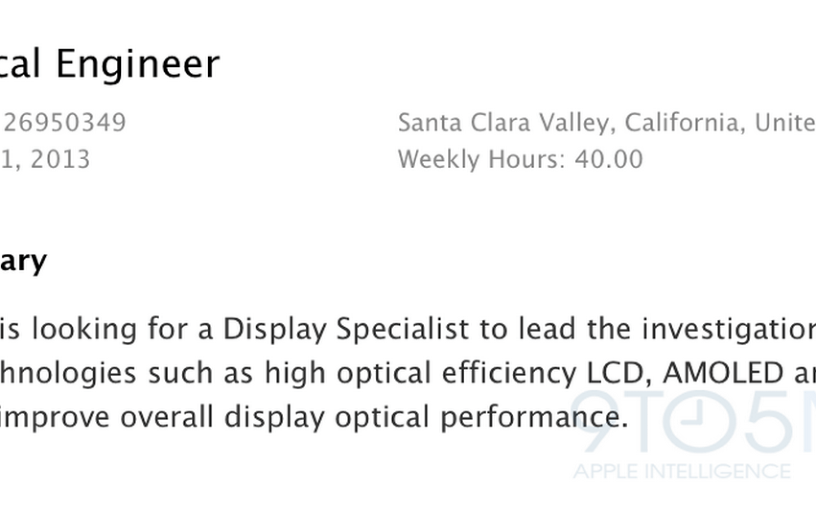 Apple job listing confirms Apple is investigating using flexible displays in future products