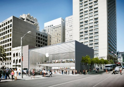 Apple to open gorgeous new San Francisco retail store in Union Square
