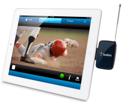 Belkin announces availability of Dyle mobile TV receiver for iPhone & iPad