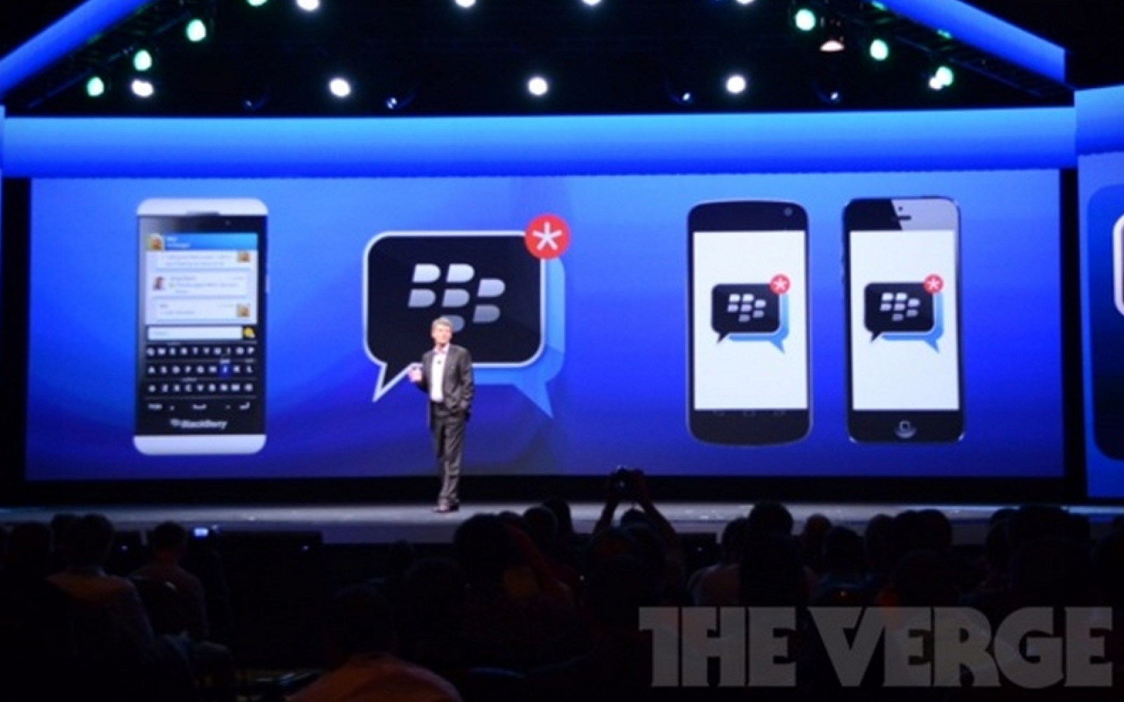 BlackBerry announces BBM coming to iOS and Android later this summer