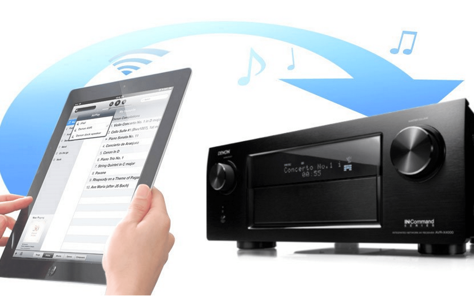 Denon launches 4K 'AVR-X4000' AV receiver with AirPlay