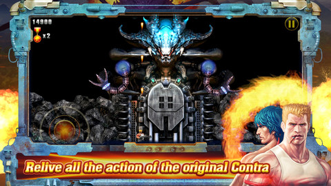 Konami releases 'Contra: Evolution' for iPhone & iPad, a remixed version of the classic shooting game
