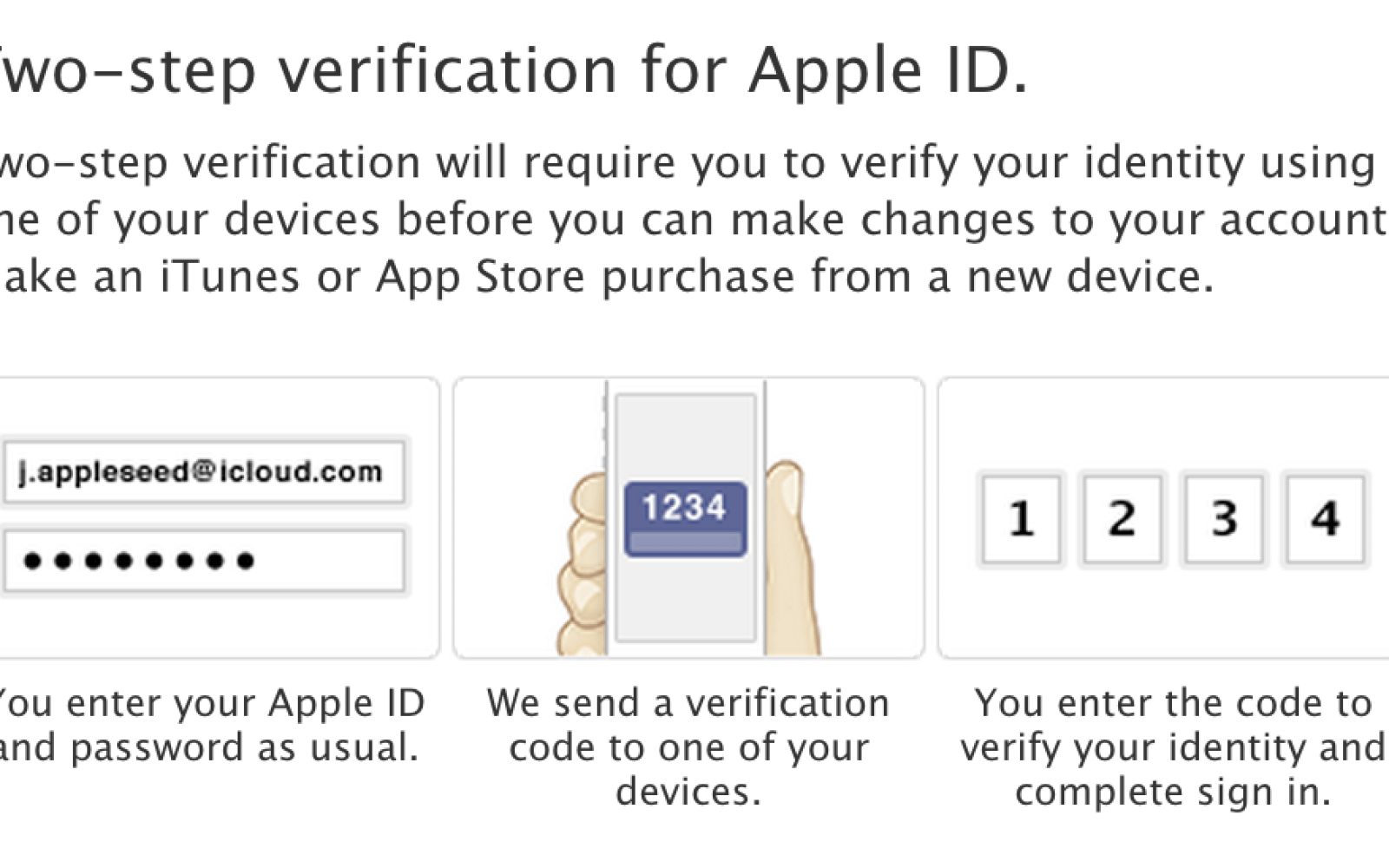 Apple's two-step verification rolling out to additional countries