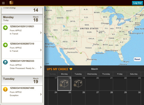 UPS finally releases iPad app for tracking & scheduling deliveries