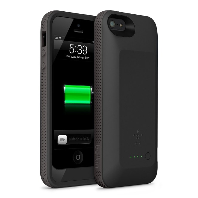 Belkin launches 2000 mAh 'Grip Power Battery Case' for iPhone 5
