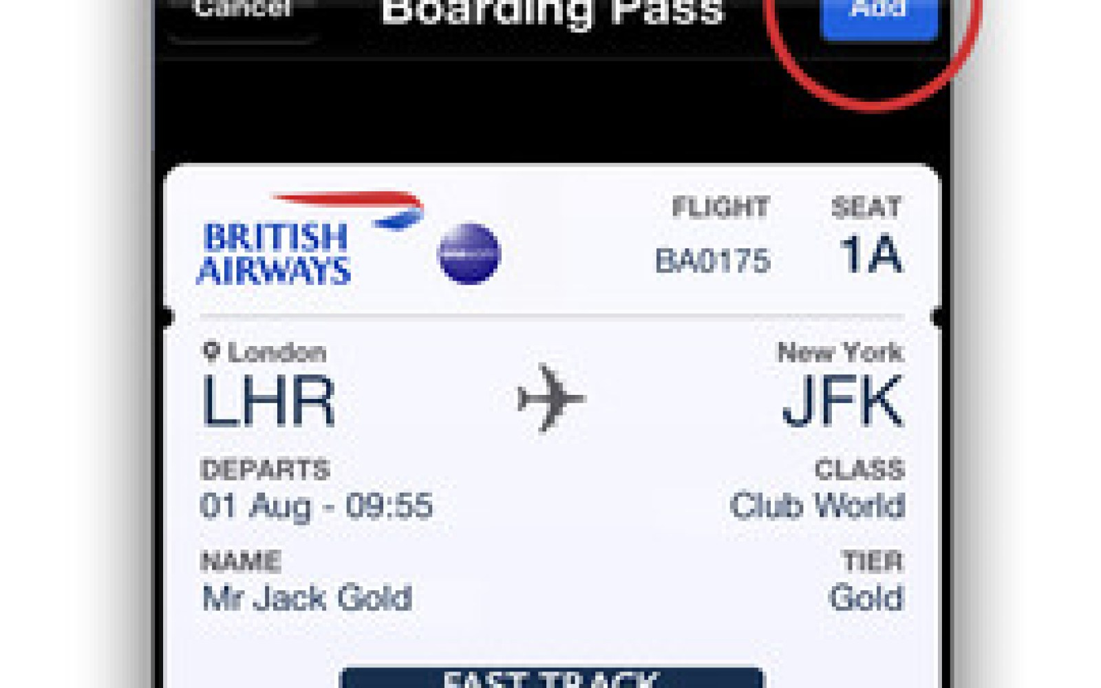 British Airways adds Passbook support for digital boarding passes to iPhone app