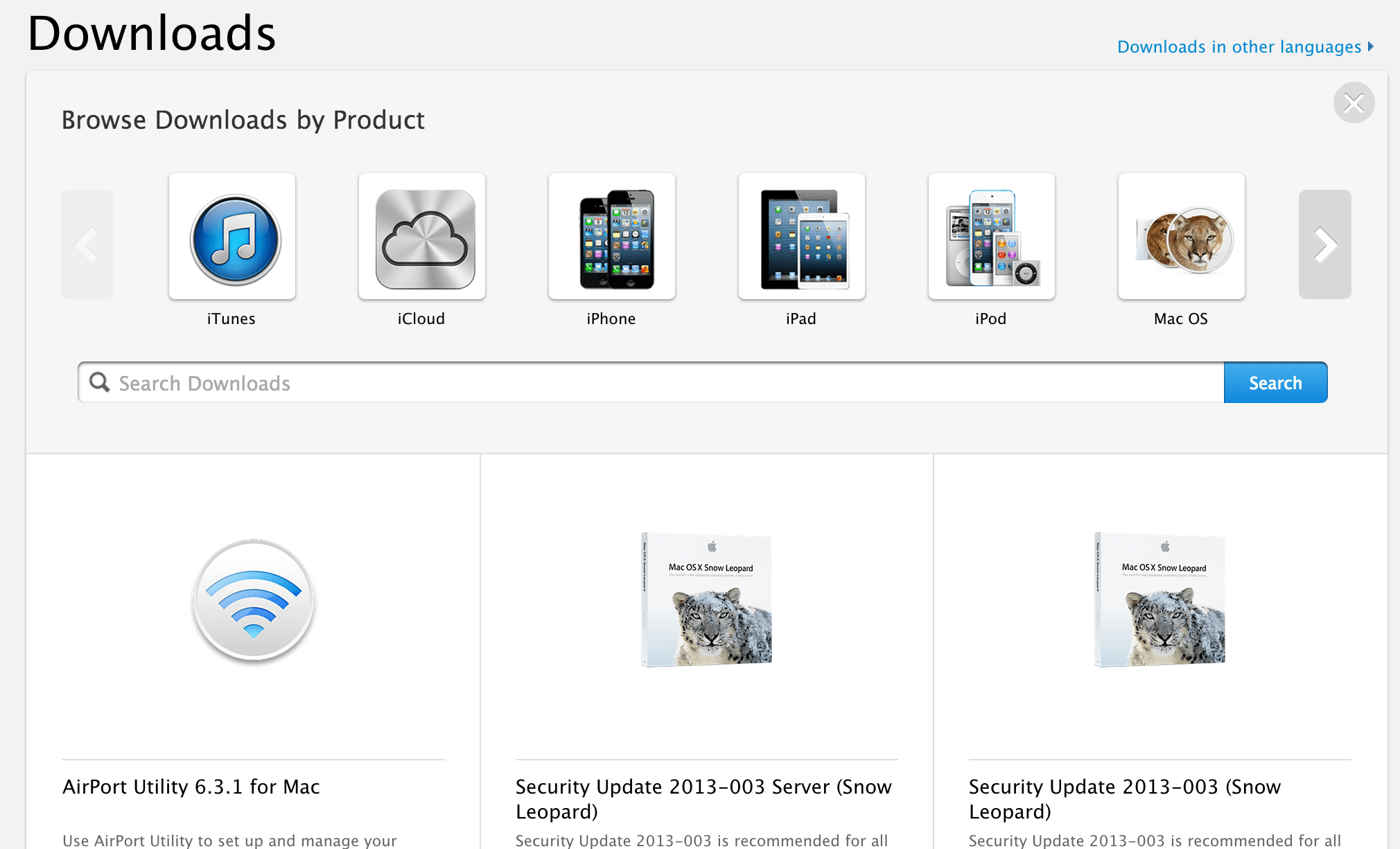 Apple continues website redesign, flattens support pages