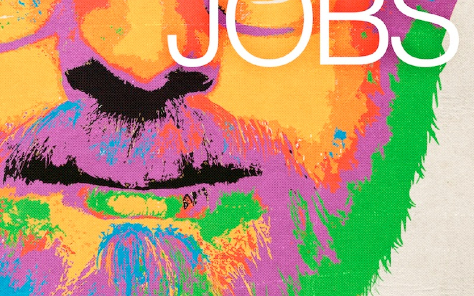Ashton Kutcher's Jobs movie gets an official psychedelic poster