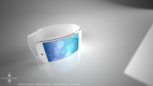 Latest iWatch concept imagines flexible display, iOS 7-inspired user-interface