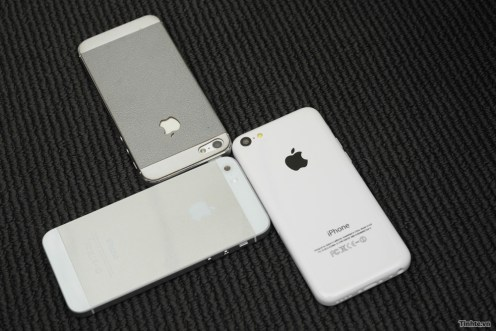 iPhone 5S/5C physical mockups